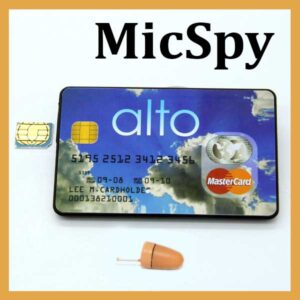 Card GSM si casca de copiat MicSpy