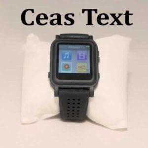 Ceas de copiat text si grafice la examene