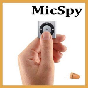 Mp3 si casca MicSpy pentru copiat