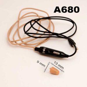 Colier mufa Jack si microcasca A680